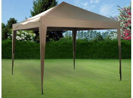 koopman pavillon faltbar mit stahlgestell kaufen. Black Bedroom Furniture Sets. Home Design Ideas