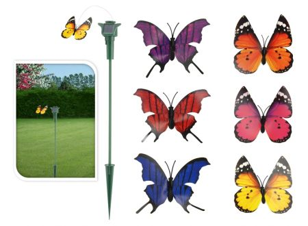 flatternder Schmetterling mit Solarantrieb