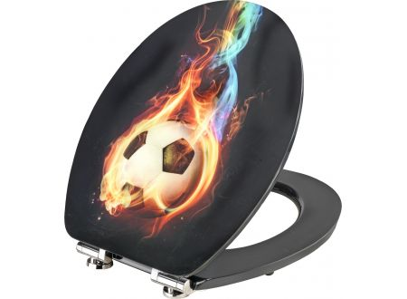conmetall meister art of acryl wc sitz fireball kaufen. Black Bedroom Furniture Sets. Home Design Ideas