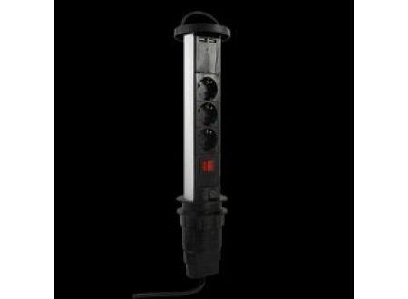 REV Ritter Steckdosensäule 3-fach mit USB bei handwerker-versand.de günstig kaufen