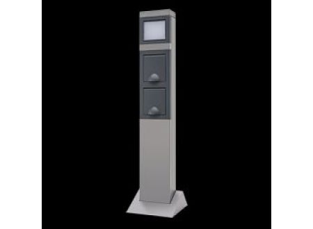 rev ritter led lampe mit steckdose 2 fach kaufen. Black Bedroom Furniture Sets. Home Design Ideas
