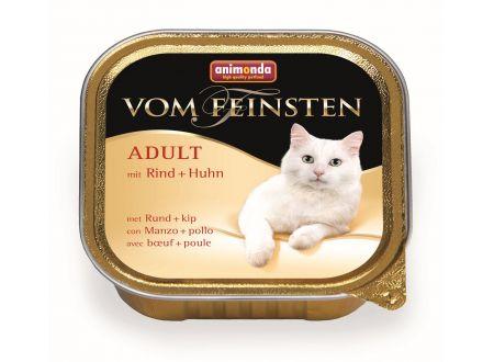 Animonda Cat vom Feinsten Adult mit Rind und Huhn 100 g Schale