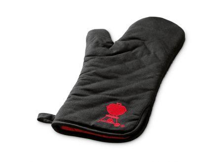 Weber Grillhandschuh schwarz mit rotem Kettle bei handwerker-versand.de günstig kaufen
