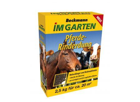 Beckmann + Brehm Pferde-Rinderdung pelletiert Beckmann & Brehm 2,5kg bei handwerker-versand.de günstig kaufen