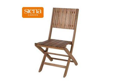 Siena Garden Falun Klapp-Stuhl Akazie geölt