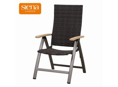 siena garden aros klapp sessel mit alugestell kaufen. Black Bedroom Furniture Sets. Home Design Ideas