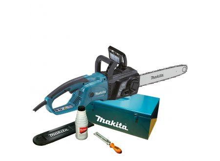 Makita Elektro-Kettensäge 35cm mit Zubehör UC3551AK bei handwerker-versand.de günstig kaufen
