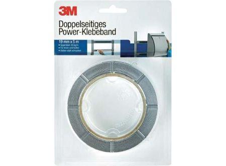Doppelseitiges Power-Klebeband 3M 19mm x 5m