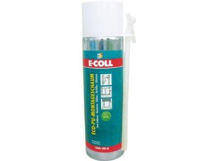 ECO Montageschaum E-COLL 500 ml Lieferumfang: 12 Stück