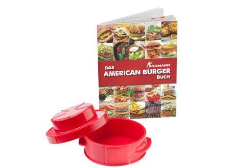 Landmann American Burger Set Mit Rezeptbuch bei handwerker-versand.de günstig kaufen