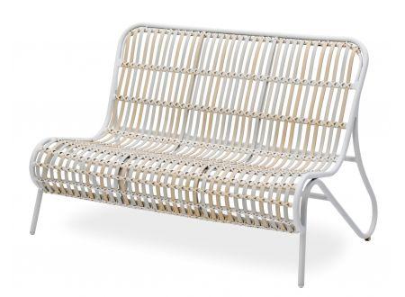landmann 2er sofa inkl auflage und zierkissen kaufen. Black Bedroom Furniture Sets. Home Design Ideas
