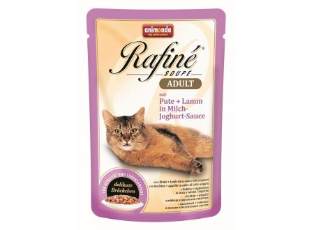 Animonda Cat Rafiné Soupé Adult Pouch Pute und ...