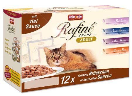 Animonda Cat Rafiné Soupé Multipack 3 Adult 12e...
