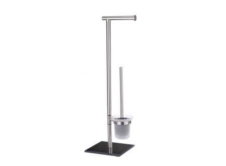 Wenko Edelstahl Stand WC-Garnitur bei handwerker-versand.de günstig kaufen