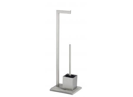 Wenko Edelstahl Stand WC-Garnitur
