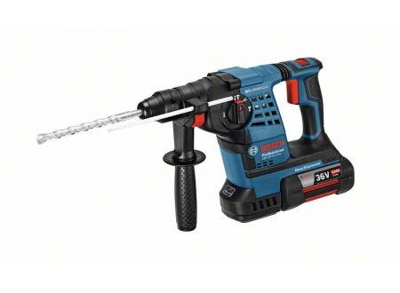 Bosch Akku-Schlagbohrhammer GBH 36 V-LI Plus, mit 2 x 4,0 Ah Li-Ion Ak