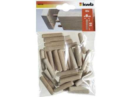 KWB 40 Holzdübel 8 x 40 mm bei handwerker-versand.de günstig kaufen