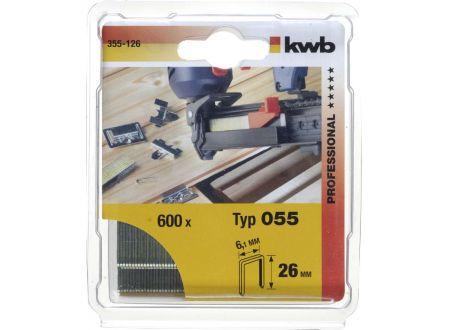 600 -Heftkl Stahl 055/C23 mmSB