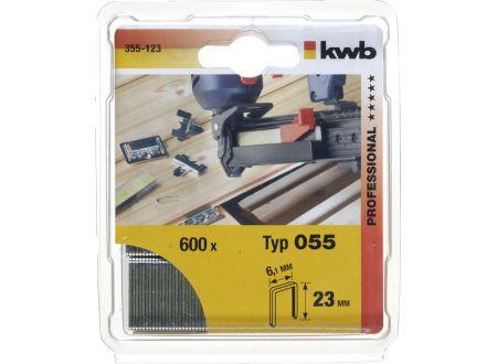 Heftklammern Stahl  055/C18 mm