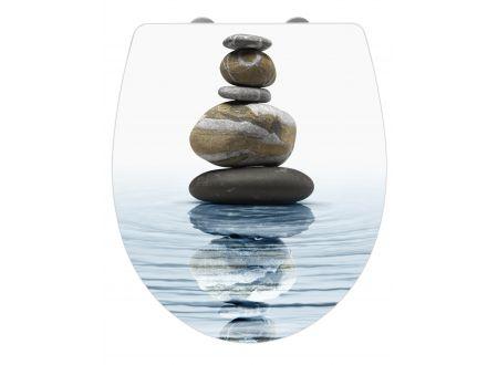 Wenko WC-Sitz Meditation Duroplast Acryl