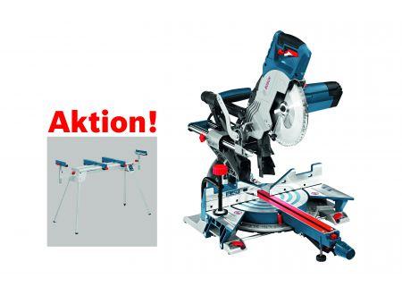 Bosch Paneelsäge GCM 8 SJL, mit Arbeitstisch GTA 2600 Professional bei handwerker-versand.de günstig kaufen
