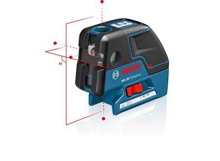 Bosch Punktlaser GCL 25, mit Schutztasche und Baustativ BS 150 bei handwerker-versand.de günstig kaufen