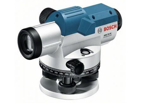 Bosch Optisches Nivelliergerät GOL 32 G, mit Stativ BT 160, Messlatte
