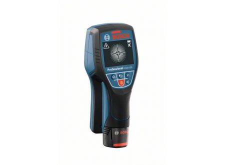 Bosch Ortungsgerät Wallscanner D-tect 120, mit 1 x 1,5 Ah Li-Ion Akku,