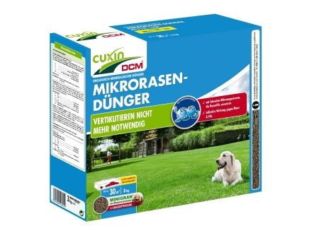 Cuxin Mikrorasen-Dünger Minigran 3kg bei handwerker-versand.de günstig kaufen