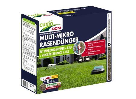 Cuxin Multi-Mikro Rasendünger Minigran 3 kg bei handwerker-versand.de günstig kaufen