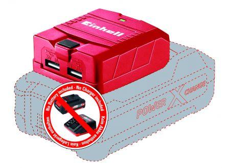 Einhell USB-Akku-Adapter TE-CP 18 Li USB Solo bei handwerker-versand.de günstig kaufen
