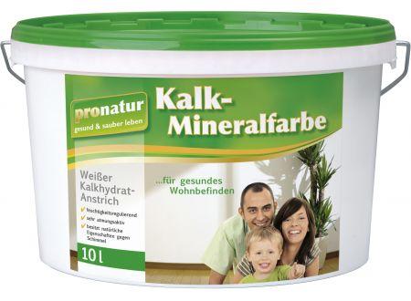 Baufan Bauchemie Kalk-Mineralfarbe pronatur bei handwerker-versand.de günstig kaufen