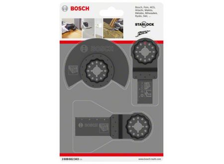 Bosch 3tlg. Universal-Set