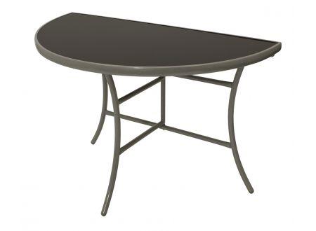 FRG Wandtisch PALERMO halbrund 58x110cm, Stahl + Glas bei handwerker-versand.de günstig kaufen
