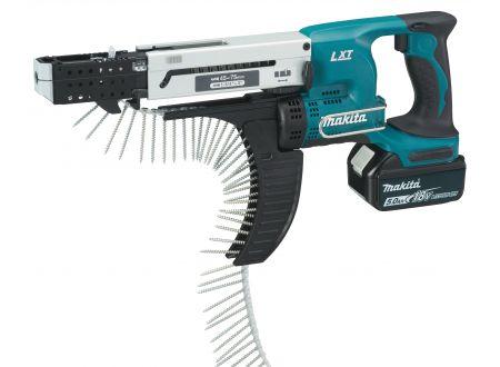 Makita Akku-Magazinschrauber 18,0V DFR750RTE bei handwerker-versand.de günstig kaufen