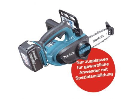 Makita Top Handle Akku-Kettensäge 18V DUC122RTE bei handwerker-versand.de günstig kaufen