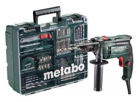 Metabo Schlagbohrmaschine SBE 650 Set mobile Werkstatt bei handwerker-versand.de günstig kaufen