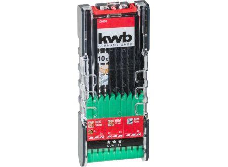 KWB PROMO Stichsägeblatt-Satz 10-tlg. Holz und Metall bei handwerker-versand.de günstig kaufen