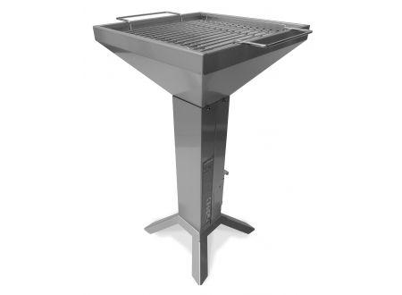 Thüros Kaminzuggrill T2-4F 35x35 cm Grillfläche, Edelstahl bei handwerker-versand.de günstig kaufen