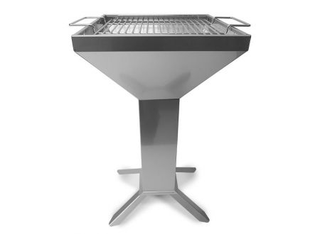 Thüros Kaminzuggrill T3-4F Grillfläche 42x42 cm, Edelstahl bei handwerker-versand.de günstig kaufen