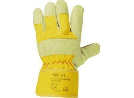 Stronghand Handschuh Elephant Schweinsleder gelb Gr 10,5 Lieferumfang: 12 Paar