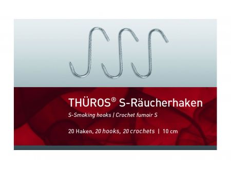 Thüros Räucher -S- Haken Standard 10 cm 20er PACK bei handwerker-versand.de günstig kaufen