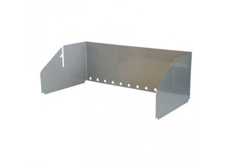 THÜROS Aufsatz- Windansteckblech für Grillfläche 30x60 cm
