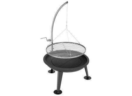justus narziss feuerschale und schwenkgrill kaufen. Black Bedroom Furniture Sets. Home Design Ideas