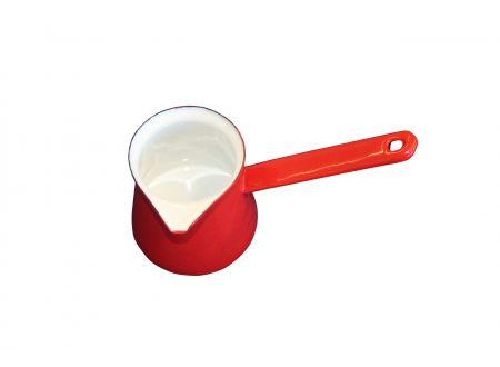 Kännchen mit Stiel rot 0,5 Liter bei handwerker-versand.de günstig kaufen