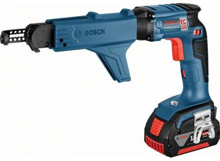 Bosch Akku-Trockenbauschrauber GSR 18 V-EC TE, MA 55, 2 x 5,0 Ah Li-Io