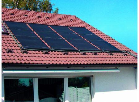 Solarabsorber - Set 4 m x 1,20 m incl. Montageset