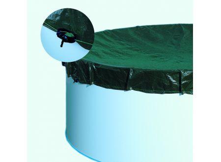 Waterman Extra-Abdeckplane für 3,75x6,10m Acht-Ovalform