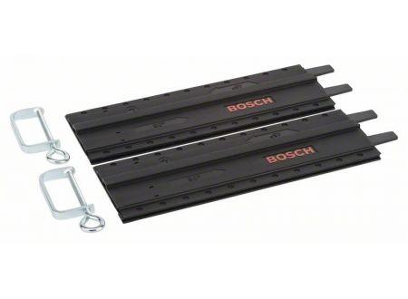Bosch 2tlg. Führungsschiene aus Kunststoff mit Schraubzwingen bei handwerker-versand.de günstig kaufen