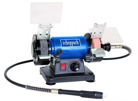 Scheppach Schleifmaschine Hg34 120W 230V50Hz bei handwerker-versand.de günstig kaufen